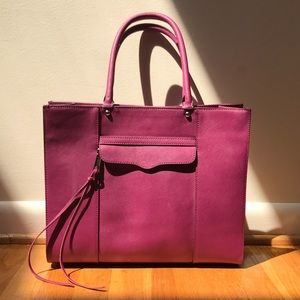 Rebecca Minkoff large mab tote bag in pink